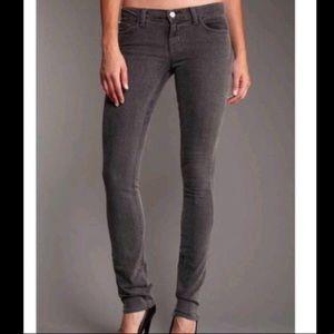 J Brand Skinny Jean 25 Ghost grey